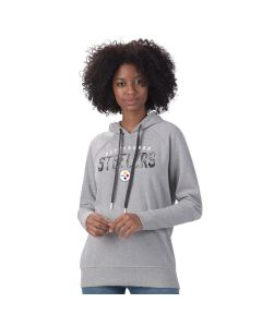 Pittsburgh Steelers Women's Ace Sequin Pullover Hoodie