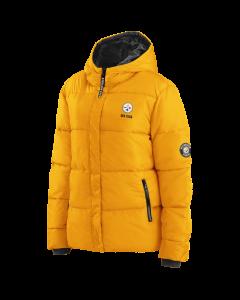 Pittsburgh Steelers Women's Puffer Heavyweight Coat