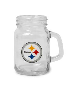 Pittsburgh Steelers 4oz. Mason Jar Shot Glass