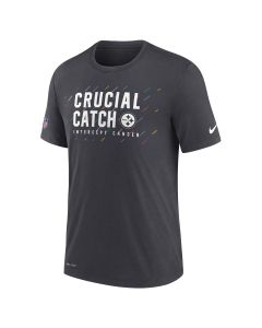 Pittsburgh Steelers Men's Nike 2021 Crucial Catch Short Sleeve T-Shirt