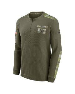 Pittsburgh Steelers Men's Nike 2021 Salute to Service (STS) 1/2 Zip
