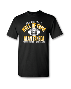 Pittsburgh Steelers Hall of Fame Alan Faneca Short Sleeve T-Shirt
