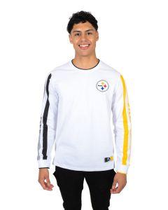 Pittsburgh Steelers Men's Speedway Long Sleeve T-Shirt