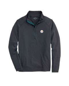Pittsburgh Steelers Men's Vineyard Vines Salt Water 1/2 Zip Sweater