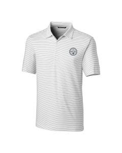 Pittsburgh Steelers Men's Cutter & Buck Forge Pencil Stripe Polo
