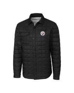 Pittsburgh Steelers Men's Cutter & Buck Rainier Shirt Jacket