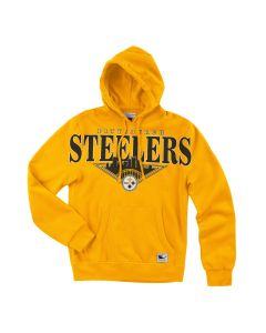 Pittsburgh Steelers Mitchell & Ness Cityscape Pullover Fleece Hoodie