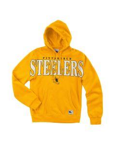 Pittsburgh Steelers Mitchell & Ness Steely McBeam Pullover Fleece Hoodie