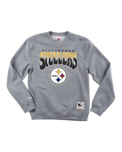 Pittsburgh Steelers Mitchell & Ness Ombre Steelers Fleece Crew