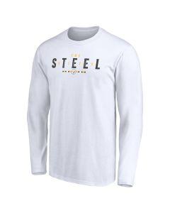 Pittsburgh Steelers Men's The Steel City Long Sleeve T-Shirt