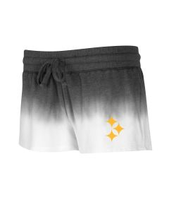 Pittsburgh Steelers Women's Dip Dye French Terry Short