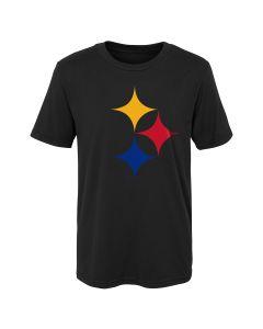 Pittsburgh Steelers Little Boys' Hypocycloid Short Sleeve T-Shirt