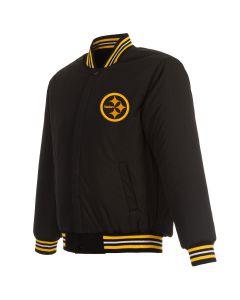 Pittsburgh Steelers Men's Color Rush Wool Heavyweight Jacket