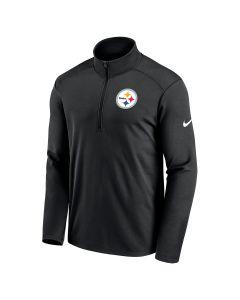 Pittsburgh Steelers Men's Nike Primary Logo Pacer 1/2 Zip