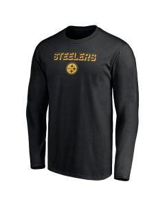 Pittsburgh Steelers Men's Color Rush Lockup Long Sleeve T-Shirt