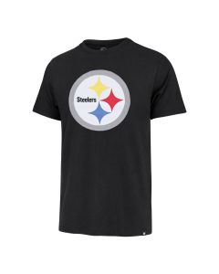 Pittsburgh Steelers Men's '47 Franklin Primary Knockout Fieldhouse Short Sleeve T-Shirt