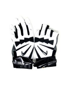 Pittsburgh Steelers 9.26.2021 Game Used #67 B.J. Finney Gloves vs. Bengals