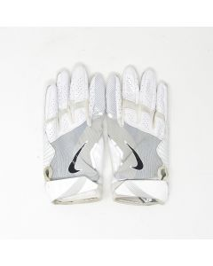 Pittsburgh Steelers 10.10.2021 Game Used #15 Cody White Gloves vs. Broncos