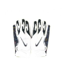 Pittsburgh Steelers 10.10.2021 Game Used #27 Marcus Allen Gloves vs. Broncos