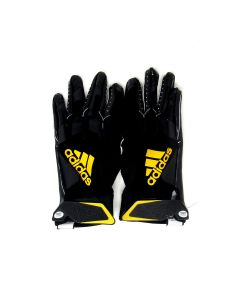 Pittsburgh Steelers 10.10.2021 Game Used #29 Kalen Ballage Gloves vs. Broncos