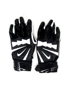 Pittsburgh Steelers 10.10.2021 Game Used #69 Kevin Dotson Gloves vs. Broncos