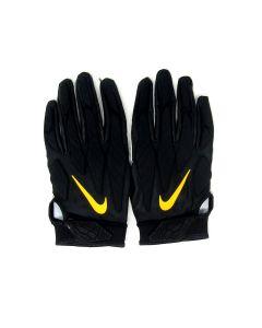 Pittsburgh Steelers 10.10.2021 Game Used #96 Isaiah Buggs Gloves vs. Broncos