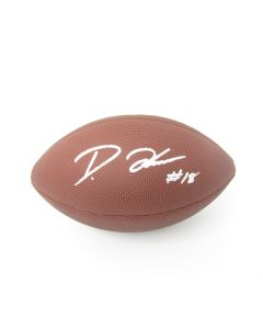 Pittsburgh Steelers #18 Diontae Johnson Autographed NFL Replica 'The Duke' Football