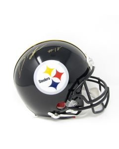 Pittsburgh Steelers #18 Diontae Johnson Autographed Riddell ProLine Authentic Full Size Helmet