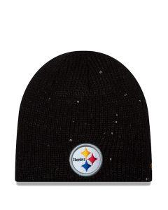Pittsburgh Steelers Women's Glistener Redux Knit Cap