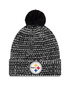 Pittsburgh Steelers New Era Women's Frosty Cuff Knit Hat