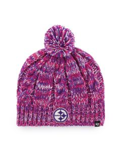 Pittsburgh Steelers '47 Girls' Honey Beanie with Pom