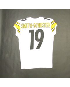 Pittsburgh Steelers #19 Juju Smith-Schuster 2017 Team Issued Away Jersey