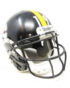 2019 Pittsburgh Steelers Game Used Helmet Worn by #19 JuJu Smith-Schuster
