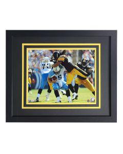 Pittsburgh Steelers #43 Troy Polamalu Flight Signed Framed 11x14 Photo
