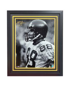 Pittsburgh Steelers #88 Lynn Swann Close Up Signed Framed 16x20 Photo