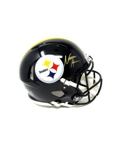Pittsburgh Steelers #22 Najee Harris Autographed Riddell Speed Authentic Full Size Helmet