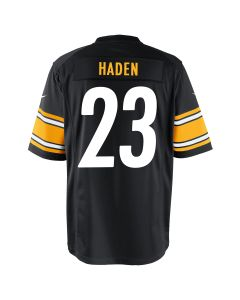 Joe Haden #23 Men's Nike Replica Home Jersey