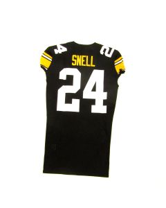 Pittsburgh Steelers #24 Benny Snell 2019 Team Issued Throwback Jersey