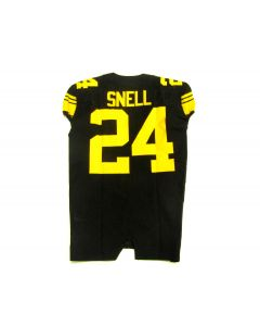 Pittsburgh Steelers Team Issued #24 Benny Snell Color Rush Jersey