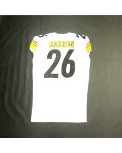 Pittsburgh Steelers Team Issued #26 Mark Barron Away Jersey