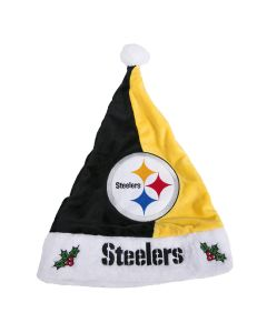 Pittsburgh Steelers Split Color Basic Santa Hat