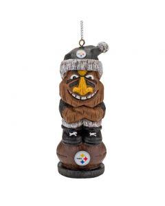 Pittsburgh Steelers Tiki Totem Ornament