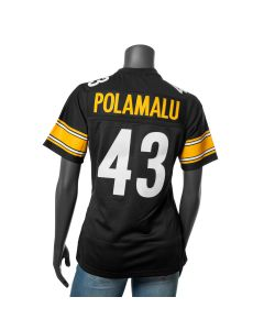 Troy Polamalu #43 Mitchell & Ness Women's Replica/Limited Jersey