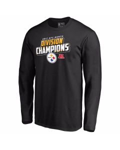 Pittsburgh Steelers 2017 AFC North Champs Long Sleeve T-Shirt