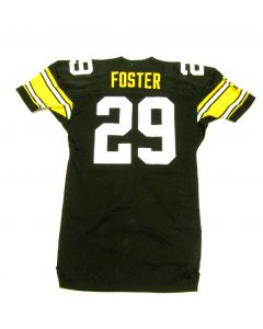 Pittsburgh Steelers #29 Barry Foster 1993 Team Issued Home Jersey