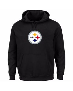 Pittsburgh Steelers Poly-Fleece Pull Over Hoodie