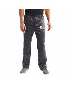 Pittsburgh Steelers Poly-Fleece Logo Pants - Extended Sizing