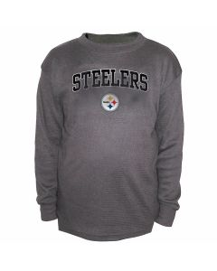 Pittsburgh Steelers Thermal Long Sleeve T-Shirt - Extended Sizing
