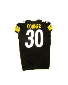 Pittsburgh Steelers #30 James Conner Game Used Home Jersey