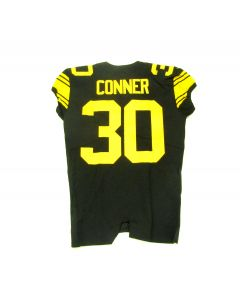 Pittsburgh Steelers 2016 Team Issued #30 James Conner Color Rush Jersey